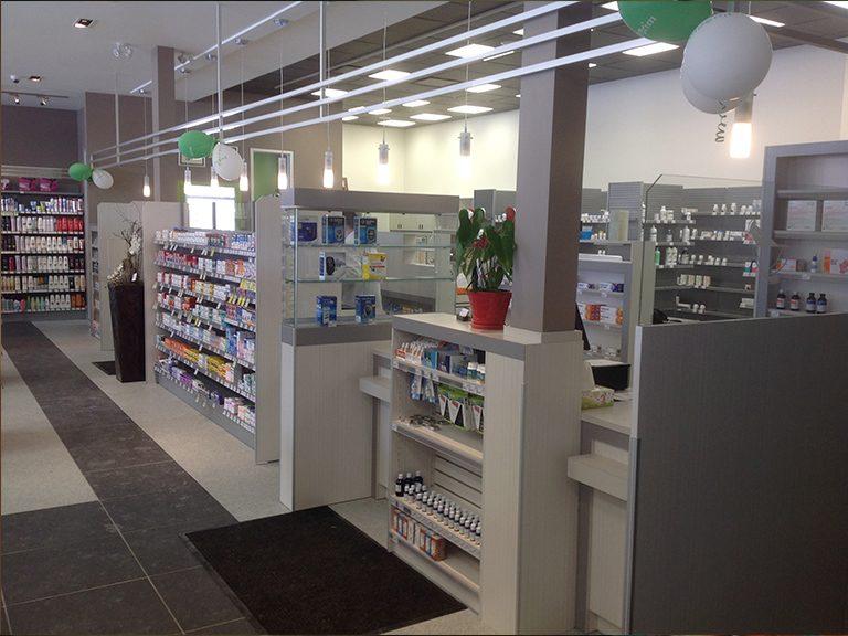 Aménagement de pharmacie à Laval - Pharmatec