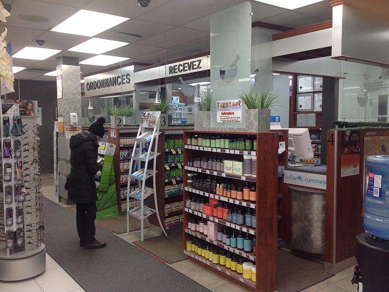 Aménagement de pharmacie à Mascouche - Pharmatec