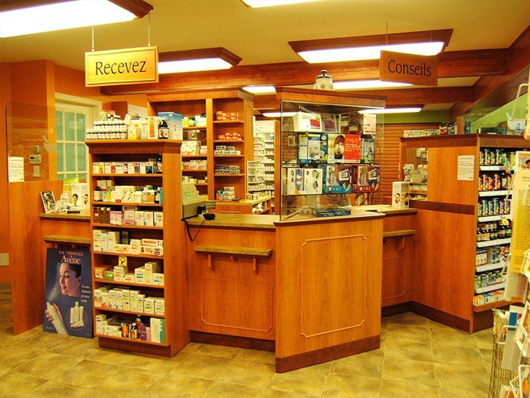Aménagement de pharmacie à Pointe-Claire - Pharmatec