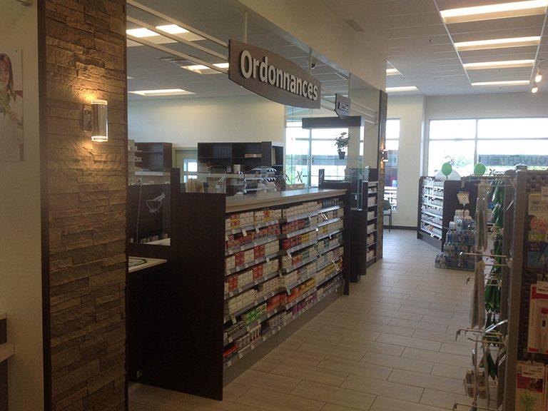 Aménagement de pharmacie à Terrebonne - Pharmatec
