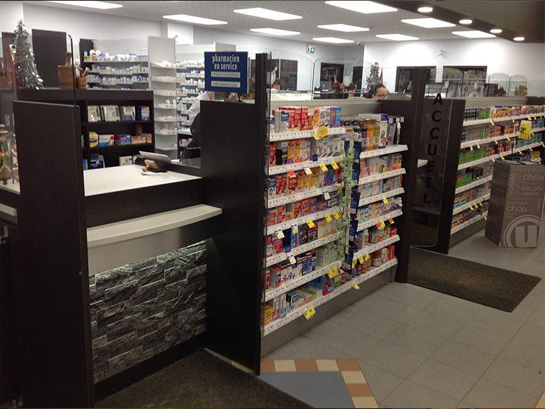 Conception et design de pharmacie à Kirkland - Pharmatec