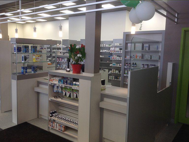 Conception et design de pharmacie à Laval - Pharmatec