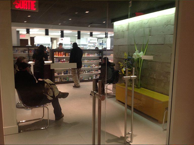 Conception et design de pharmacie à Montréal - Pharmatec