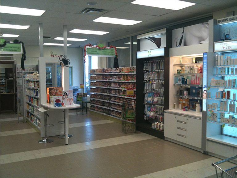 Conception et design de pharmacie à Pincourt - Pharmatec