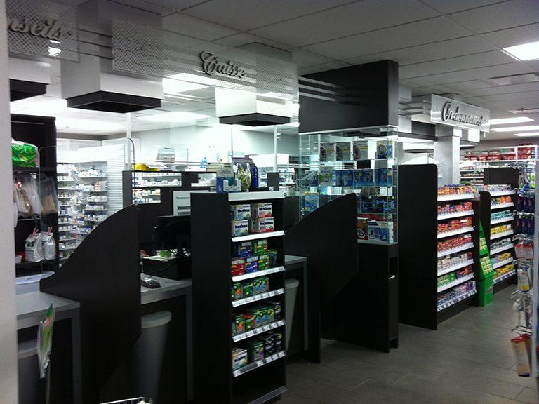 Création de pharmacie à St-Lazare - Pharmatec