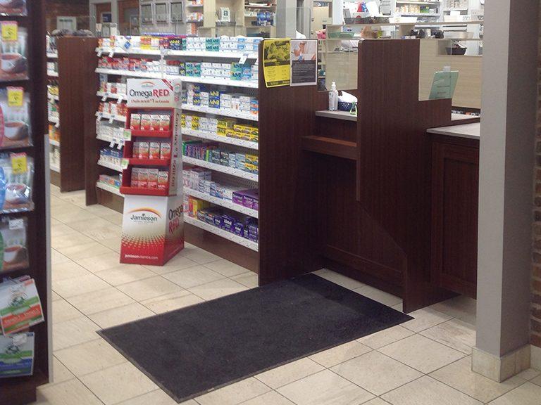 Design de pharmacie à Laval - Pharmatec