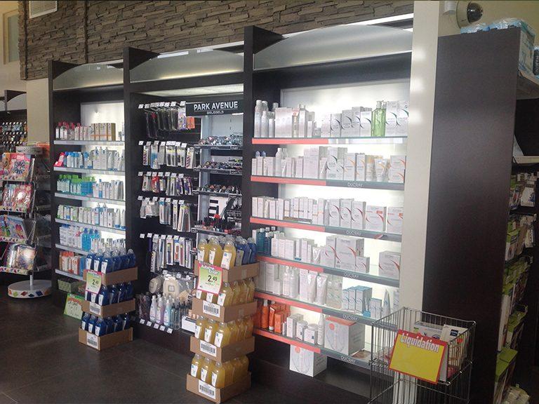Design de pharmacie à Montréal - Pharmatec