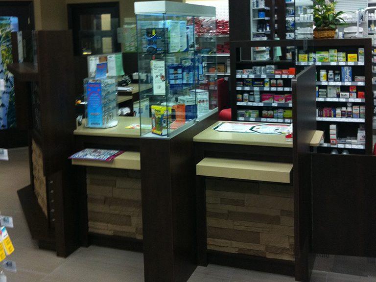 Design de pharmacie à Pincourt - Pharmatec