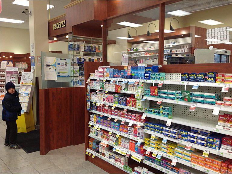 Design de pharmacie à Pointe-Claire - Pharmatec