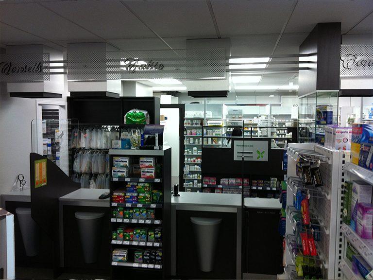 Design de pharmacie à St-Lazare - Pharmatec